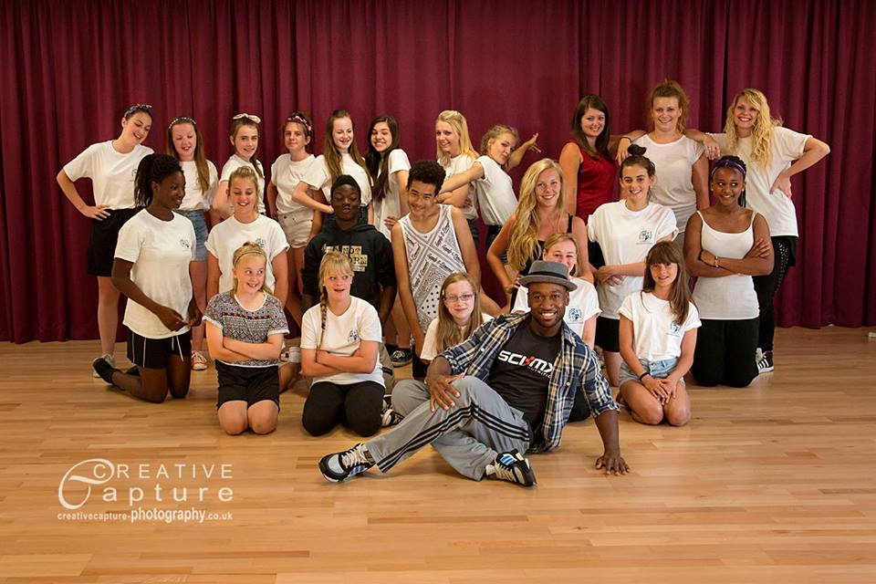 Dance workshop with Nathan Gordon